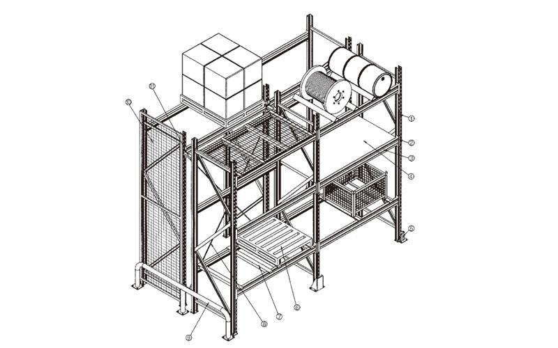 货架结构构件断面系列