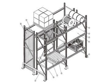 物流工程结构图